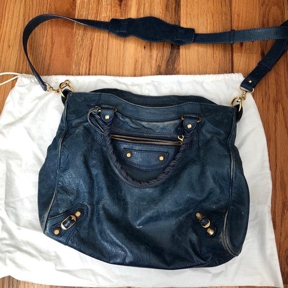 071306e01dd2 Balenciaga Handbags - BALENCIAGA CLASSIC GOLD CITY S